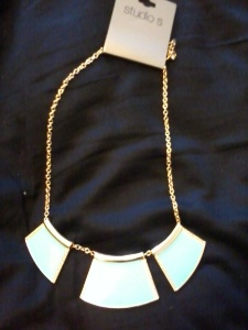 Studio S Necklace from Sears.  Original Price $18 I paid $10